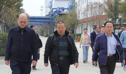 煙臺市人民政府副市長王曉軍蒞臨公司考察、指導